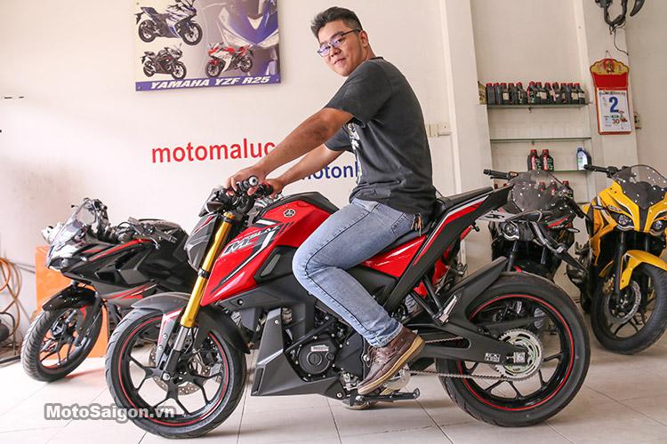 DCận cảnh lô xe Yamaha MSlaz giá hơn 100 triệu tại Việt Nam vừa được nhập về 18