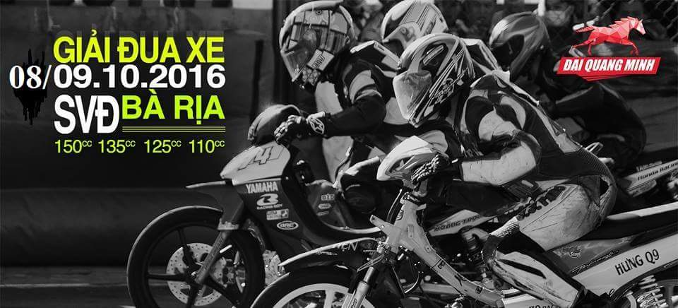 Giải đua xe moto tại SVĐ Bà Rịa - Vũng Tàu