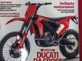 Moto cào cào Ducati offroad