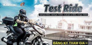 Chương trình lái thử test ride xe Kawasaki