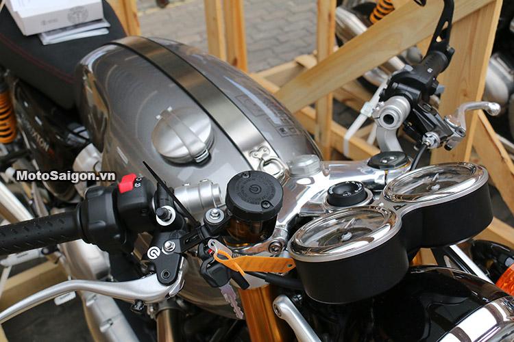 Triumph Thruxton R 2016 giá bao nhiêu? Đánh giá Thruxton R 2016 chi tiết