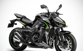 Kawasaki Z1000R 2017 - MotoSaigon