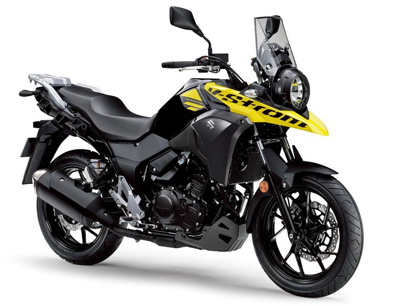 Vstrom 250 2017 phiên bản màu vàng đen.