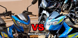 So sanh Raider R150 Fi 2017 vs Satria F150