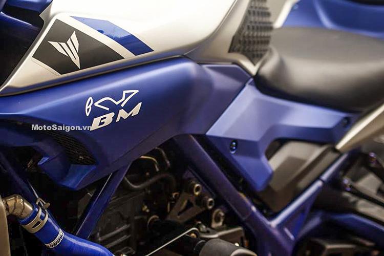 Ngắm Yamaha MT-03 độ đầu đèn & bánh lớn cực chất của biker nước ngoài-6