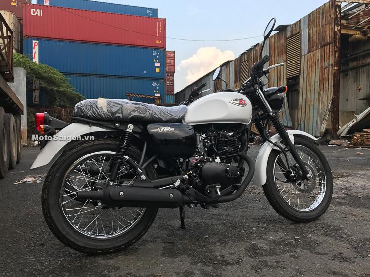 Đánh giá xe Kawasaki W175 2018 giá bán bao nhiêu tại Việt Nam