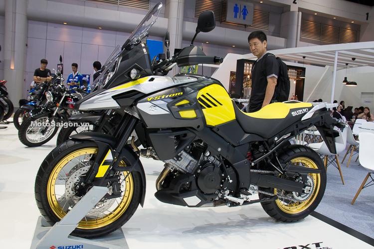 Suzuki V-Strom 1000 ABS 2018 đã có giá bán chính hãng tại Việt Nam