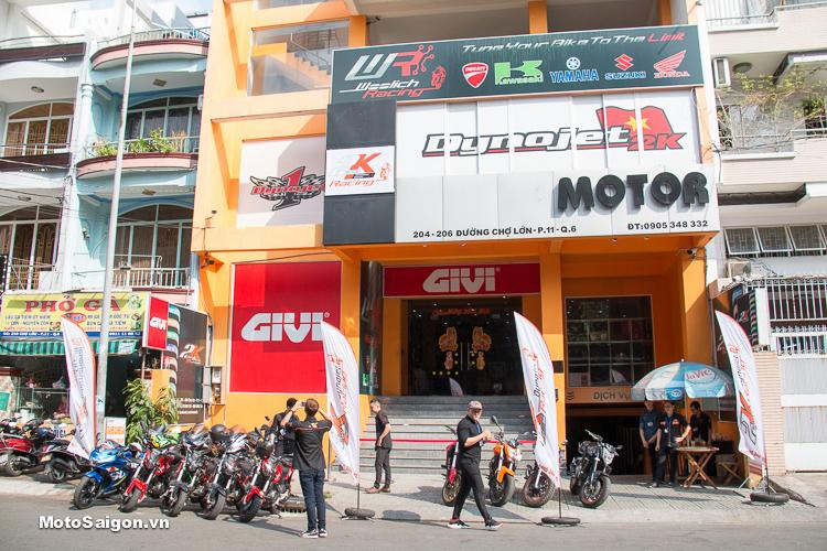 Motor 2K Khai trương đại lý phân phối GIVI chính hãng tại Việt Nam