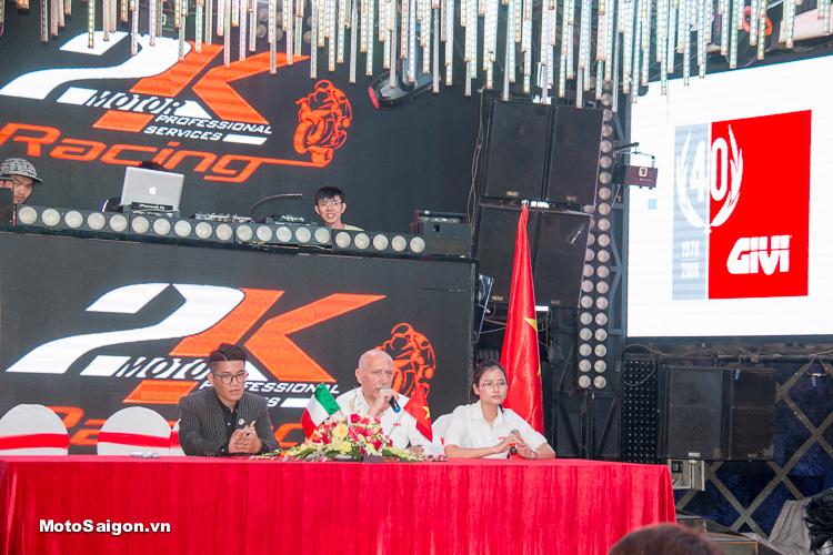 Motor 2K Khai trương đại lý phân phối GIVI chính hãng tại Việt Nam - 4
