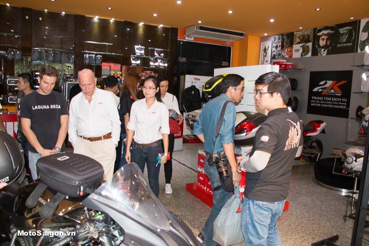 Motor 2K Khai trương đại lý phân phối GIVI chính hãng tại Việt Nam - 12