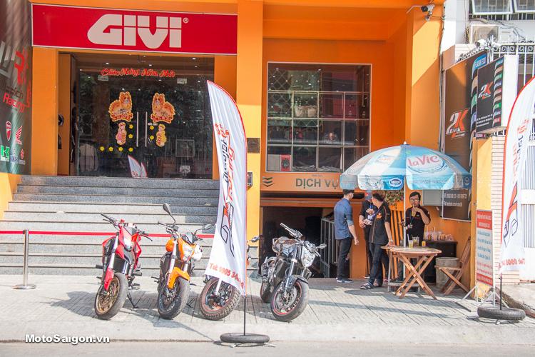 Motor 2K Khai trương đại lý phân phối GIVI chính hãng tại Việt Nam - 1