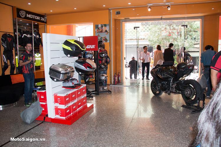 Motor 2K Khai trương đại lý phân phối GIVI chính hãng tại Việt Nam - 17